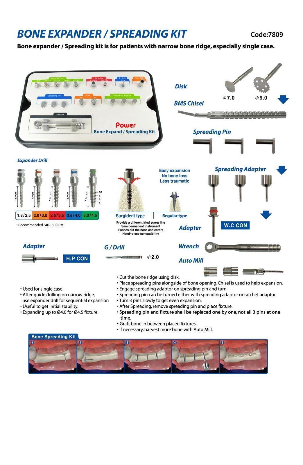 Bone Expander Spreading Kit 2